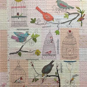 Chrip Chirp Collage Quilt Kit