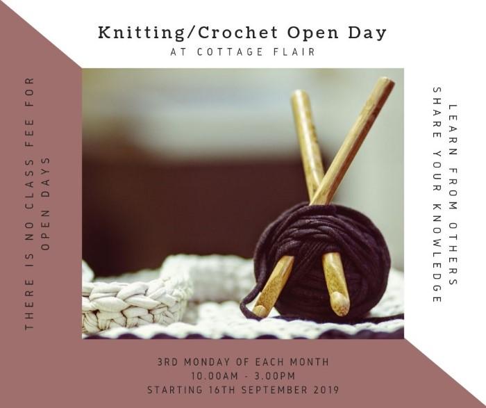 Knitting/Crochet Open Day
