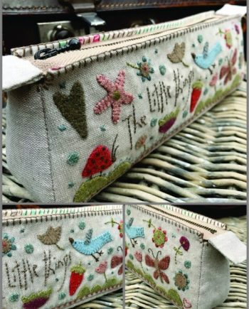 Hatched and Patched Stitcheries